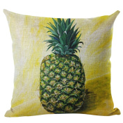 display08 Colourful Pineapple Pattern Pillow Case Waist Throw Cushion Cover Home Room Decor