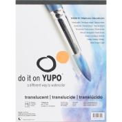 Yupo Paper 23cm x 30cm 15 Sheets/Pkg-Translucent 47kg