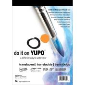 Yupo Paper 13cm x 18cm 15 Sheets/Pkg-Translucent 47kg