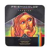 Prismacolor 48 Tin Coloured Pencils