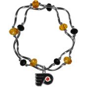 NHL Philadelphia Flyers Stretch Bead Bracelet