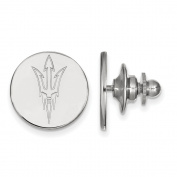 925 Genuine Sterling Silver Officially Licenced Arizona State University Lapel Pin