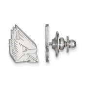 925 Genuine Sterling Silver Officially Licenced Ball State University Lapel Pin