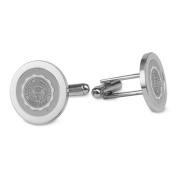 Auburn Silver Cufflinks
