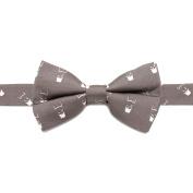 CUFFLINKS INC Mens Batman Cowl Big Boys' Silk Bow Tie (Grey) - Modern Jewellery