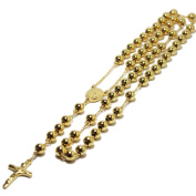 18k Yellow Gold Plated Rosary