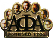 Alpha Phi Alpha Founders Faces Lapel Pin [Gold - 3.5cm ]