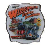 Harley-Davidson Cow Ridin' Bar & Shield Pin HDPIN, Harley Davidson
