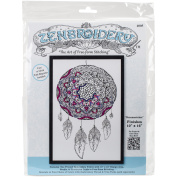 Design Works/Zenbroidery Stamped Embroidery 25cm x 41cm