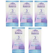 5 Pack RepHresh Clean Balance Feminine Freshness Kit 1 Each