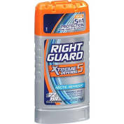 4 Pack Right Guard Xtreme Defence 5in1 Protection Arctic Refresh Solid 80ml Ea