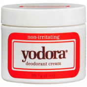 5 Pack Yodora Non-Irritating Deodorant Cream 60ml (56.7 g) Each