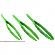 3 Plastic Tweezers Beading Stringing Pearl Gem Tools