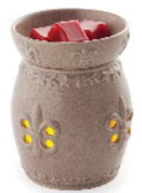 FRENCH LILY GLIMMER FRAGRANCE WARMER by Candle Warmers