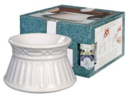 CLASSIC WHITE Oil Warmer - Wax Melter by Greenleaf