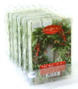 Pepperberry Wreath Case of 6 Candle Warmer 150ml Wax Melts