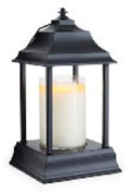 BLACK Carriage Candle Warmer Lantern by Candle Warmers