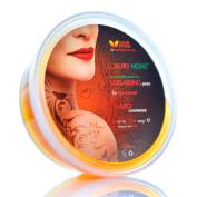 "Sugaring Paste ""Luxury HOME"" - (HARD (for brazilian bikini) Organic Hair Removal - Long Lasting Sugar Wax, Easy to Use & Safe"