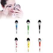 6Pcs Cute Japan style Cosmetic Tweezers Beauty Eyebrow Tweezers Hair Removal Eyebrow Puller