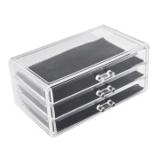 Acrylic Cosmetic Storage Drawer Case Jewellery Organiser Holder Display Box