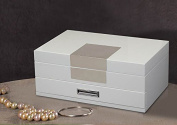 Kendal Quality Wooden Jewellery Box Case Storage with Piano Paint GQ1+1