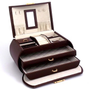 Bey-Berk Multi Level Jewellery Box