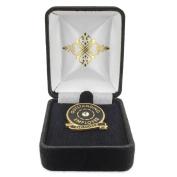 PinMart's Velour Jewellery Lapel Pin Gift Box - Black