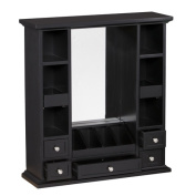Darby Home Co Apfel Over The Door Jewellery Armoire with Mirror