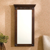 Alcott Hill Horstman Wall Mount Jewellery Armoire with Mirror