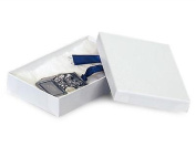 1 Unit 6x4x1 White Swirl Jewellery Box Unit pack 100