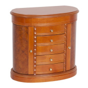Darby Home Co Solid Wood Jewellery Box