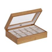 Alcott Hill Glass Top Watch Box