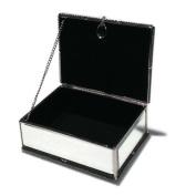 Alcott Hill Multi-Faceted Mirrored Jewellery Box