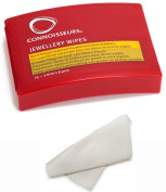 CONNOISURS jewellery WIPES CA OF 12 BOXES OF 25