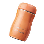 HLHN 200ML Stainless Steel Candy Colour Travel Thermal Bottle
