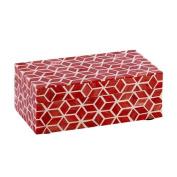 Bloomsbury Market Marsala Red Jewellery Box