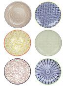 ard' Time ec-6sabasgm2 sabaé Plate, Ceramic, multi-coloured, 26 cm
