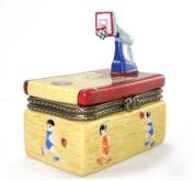 Basketball Court Foul Shot Player Trinket Box phb