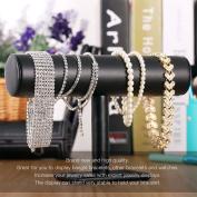 Black T-bar Wrist Watch Jewellery Bracelet Necklace Decorations Display Holder Stand