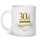 30th Wedding Anniversary, Ivory Wedding Gifts, 30th Wedding Mug, 30th Wedding Anniversary Gifts, 30th Wedding Anniversary Gifts For Him, 30th Wedding Anniversary Gifts For Her