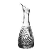 Clear Crystal Aljulia Wine Carafe 1000 ml 11.5 x 11.5 x 33 cm