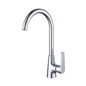 YUCH Kitchen faucet _ coated copper zinc alloy handle, and the vegetable washing basin, sink faucet