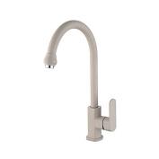 YUCH Kitchen faucet _ zinc alloy handle, stainless steel tube 304 ceramic copper faucet