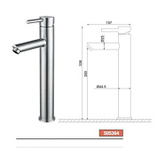 YUCH Faucet SUS304 stainless steel basin faucet