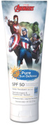 Marvel Avengers, Pure Sun Defence, SPF 50, For Sensitive Skin, Broad Spectrum, 240ml + Beyond BodiHeat Patch, 1 Ct
