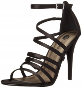 Michael Antonio Womens Eve-Sat Dress Sandal