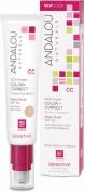 Andalou Naturals Moisturising Colour + Correct, Sheer Nude SPF 30 60ml