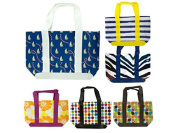 bulk buys Colourful Reusable Tote Bag, Varies, One Size