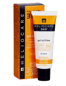 Heliocare 360 Gel Oil-Free Sunscreen With FernBlock BioShield SPF50
