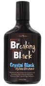 Hoss Sauce Breaking Black Crystal Black Tanning Lotion with Dark Rich Bronzers.